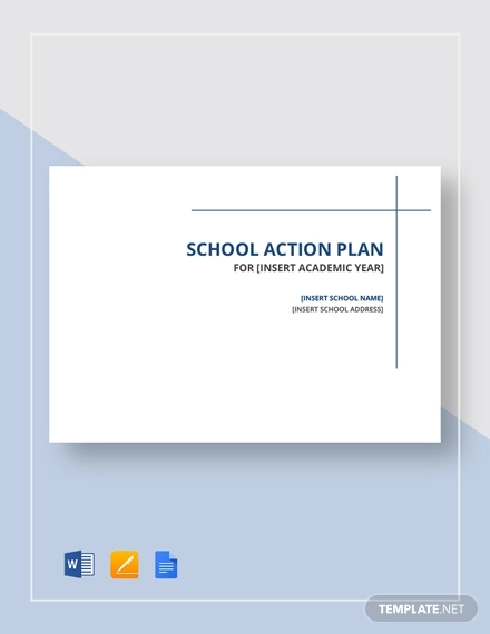 school action plan example