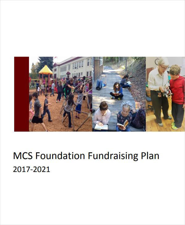 school foundation fundraising plan