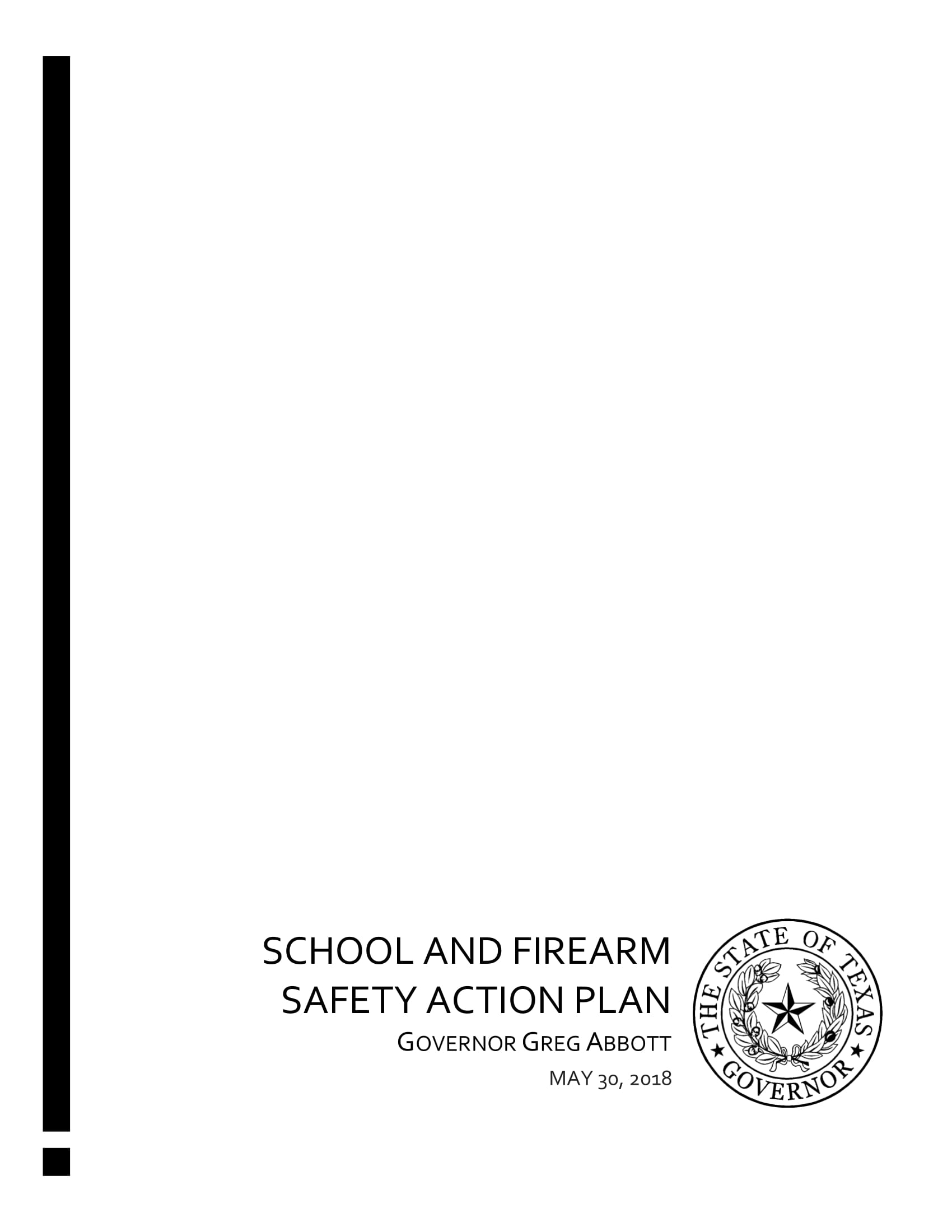 school safety simple action plan example