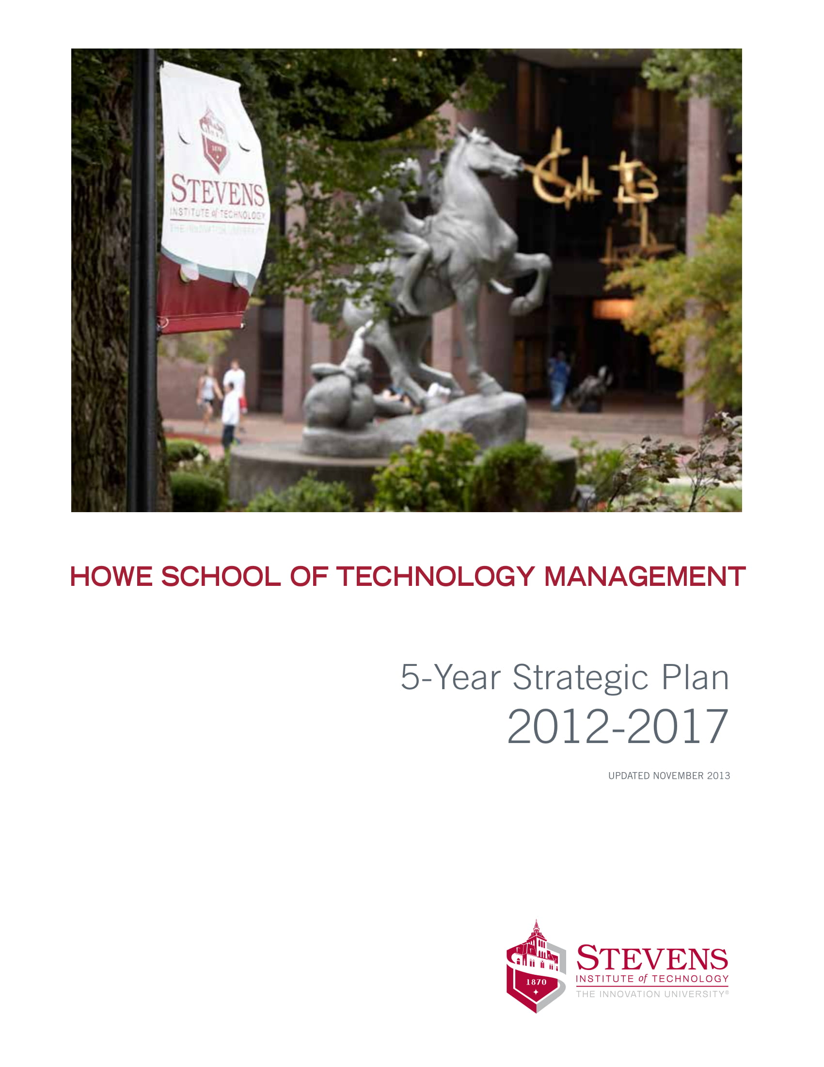 school of technology management 5 year strategic plan example 01