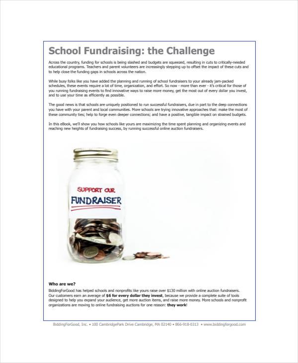 simple school fundraising plan
