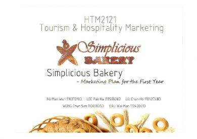 simplicious bakery the first year marketing plan1