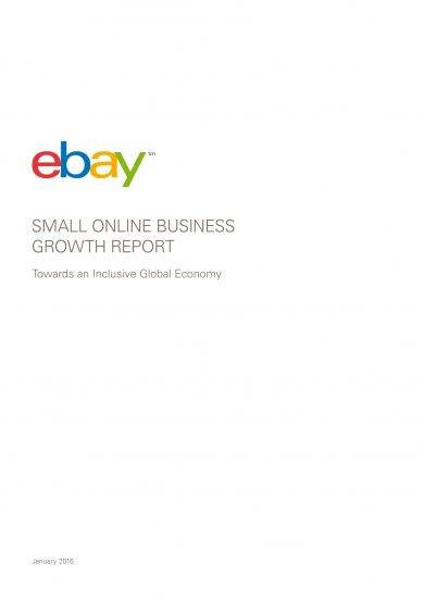 small online business growth report example