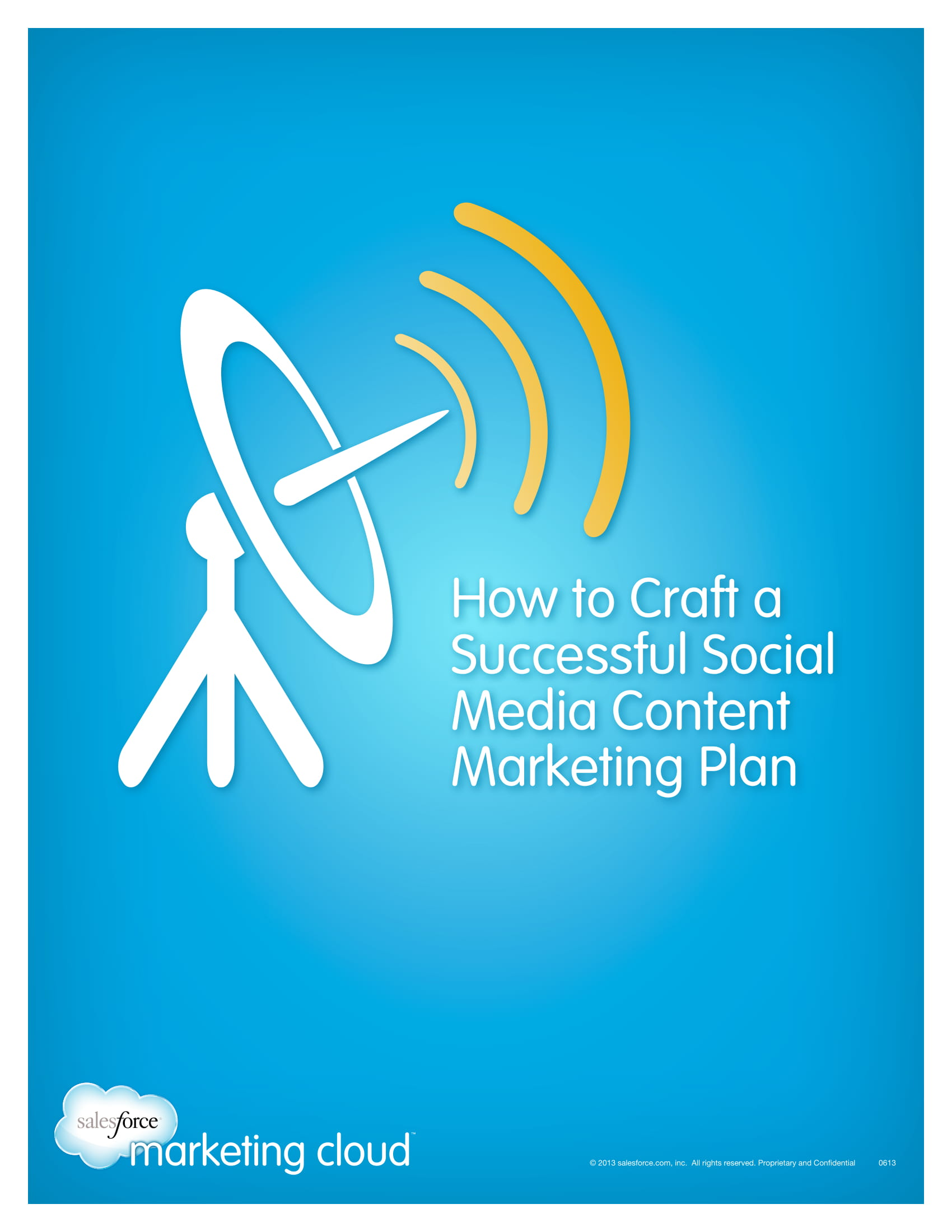 social media content marketing plan guide example