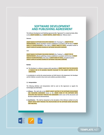software development and publishing agreement1