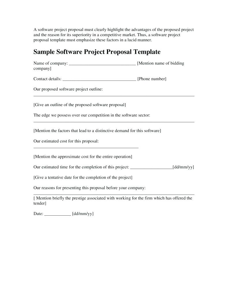 software project proposal example