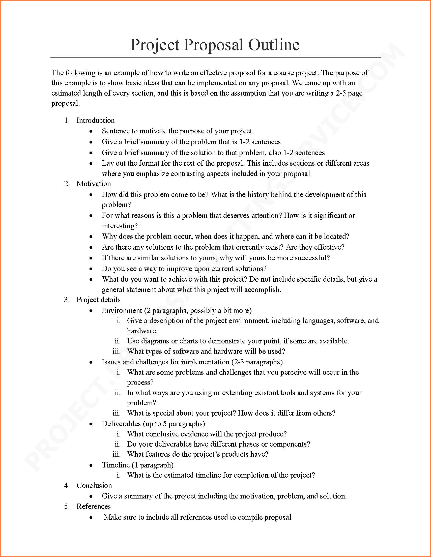 12+ Software Project Proposal Examples – PDF, Word
