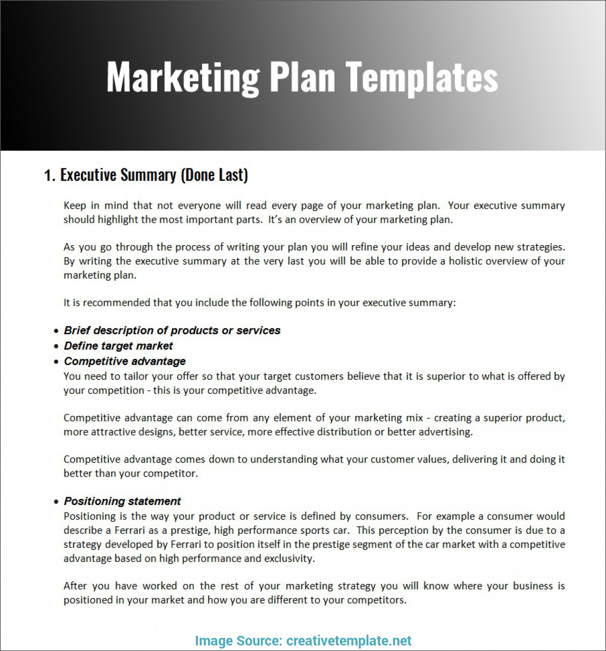 12 restaurant marketing plan examples pdf word pages