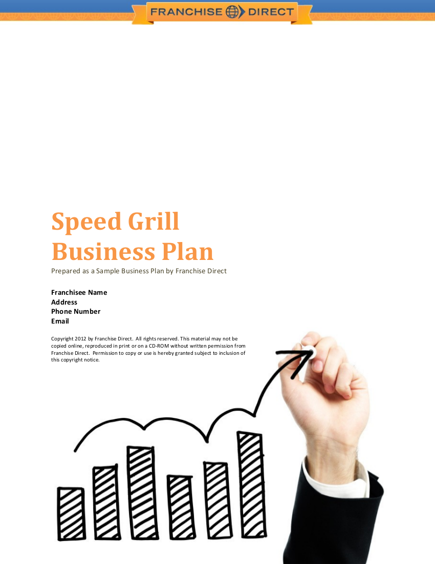 speed grill business plan example