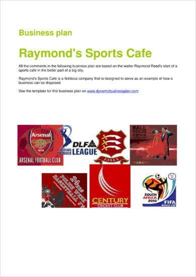 sports bar business plan