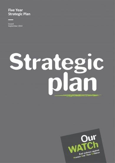 standard five year strategic plan example