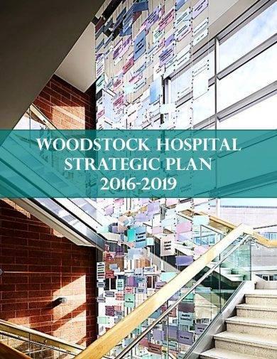 standard hospital strategic plan example