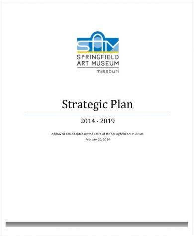 standard museum strategic plan 1