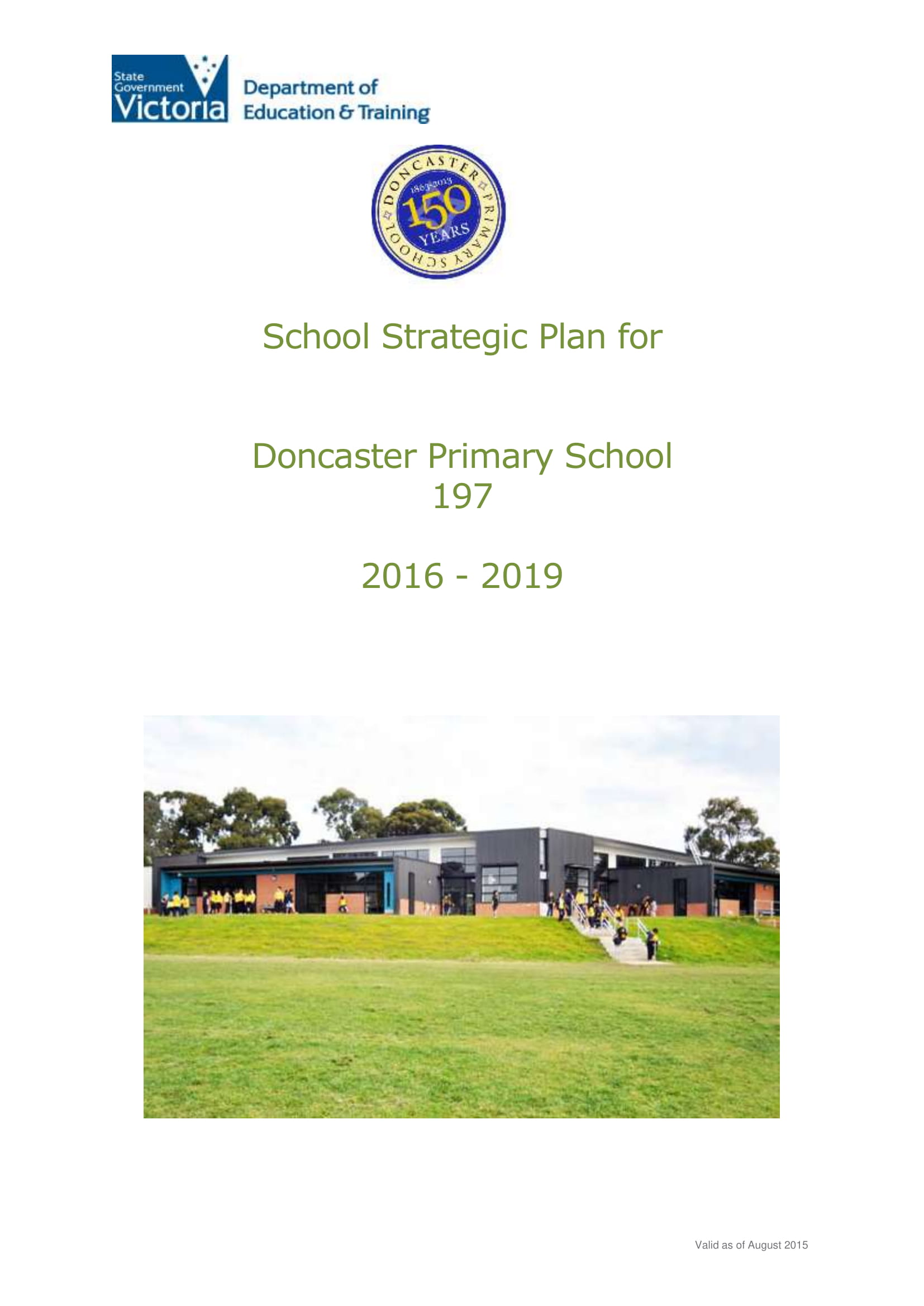 standard school strategic plan example 01
