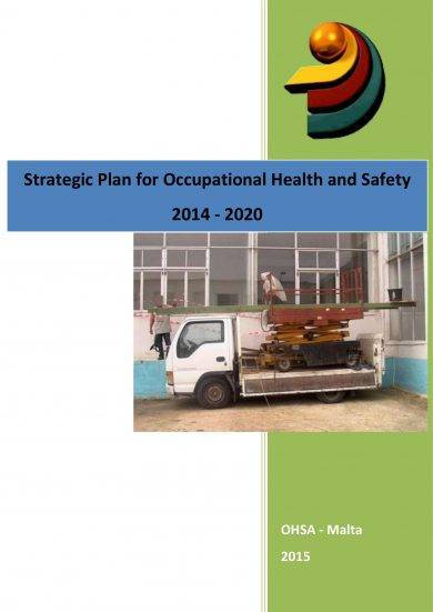 strategic plan for occupational health and safety example