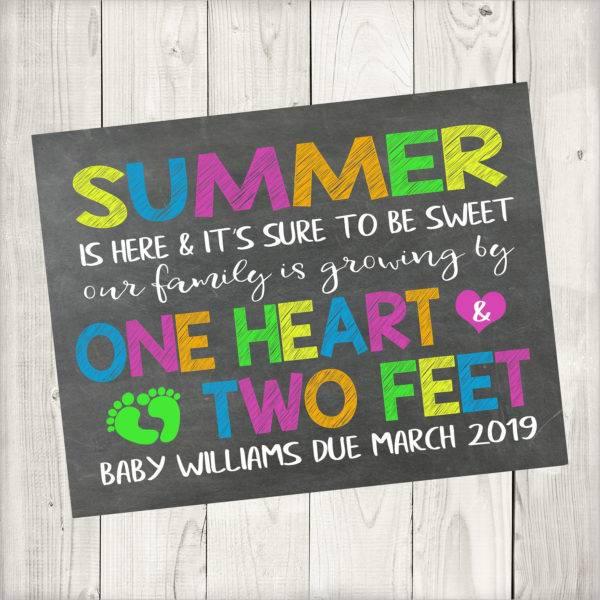 summer pregnancy announcement example1