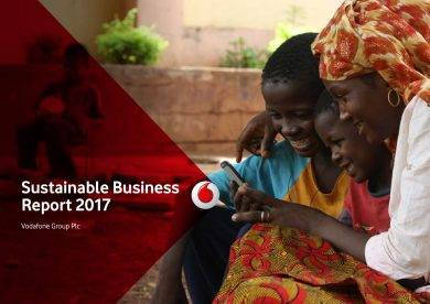 sustainable business report example