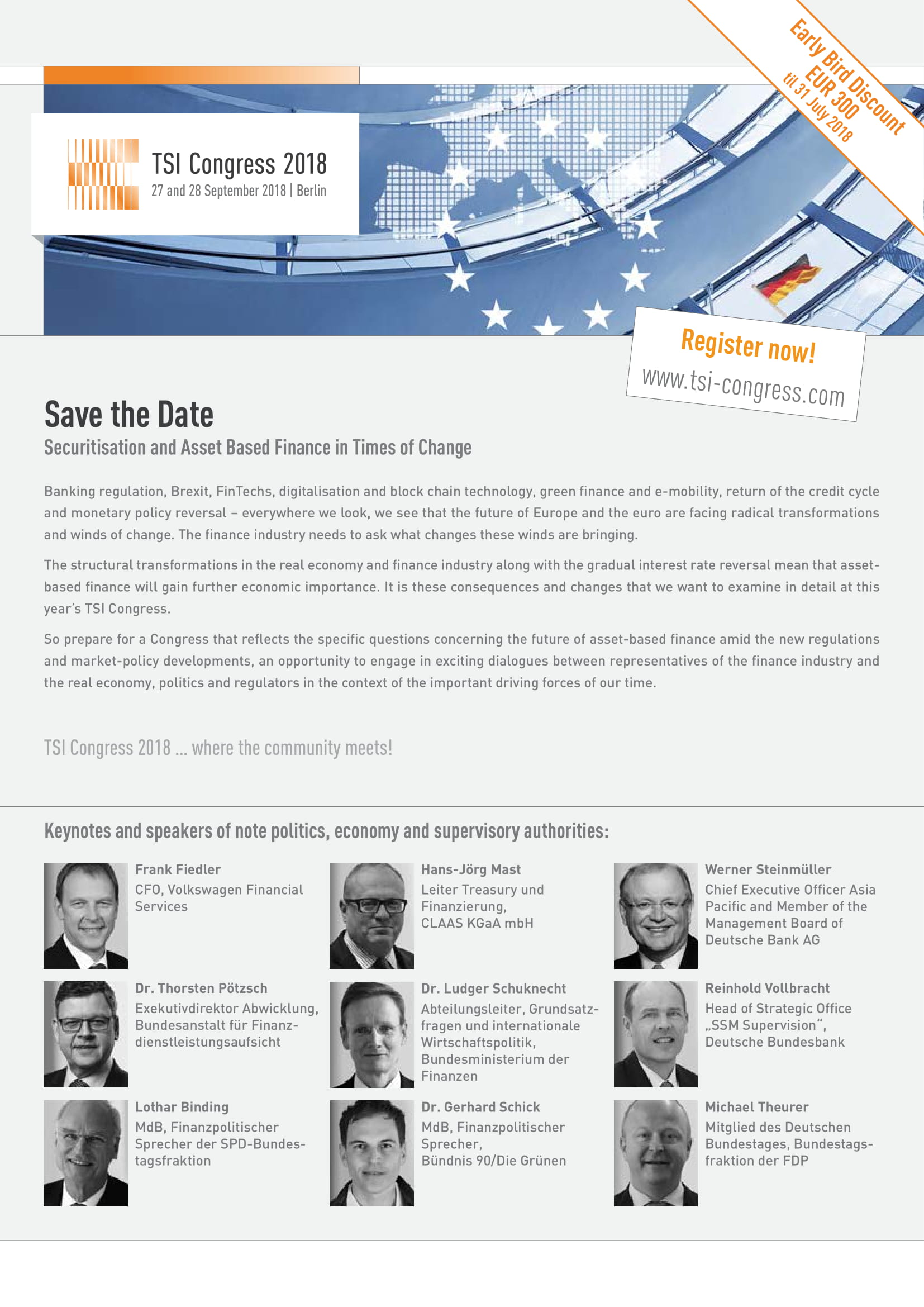 tsi congress save the date email example