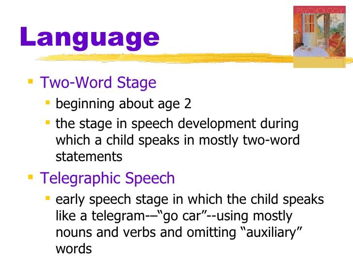 telegraphic speech explained