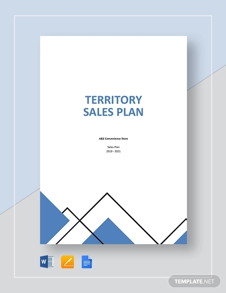 territory sales plan template