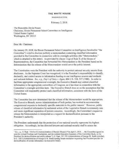 the white house memo writing example1