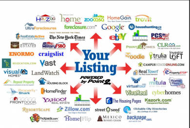 various real estate listings