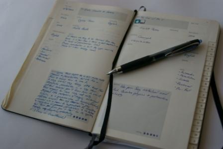 vintage moleskine book journal copy