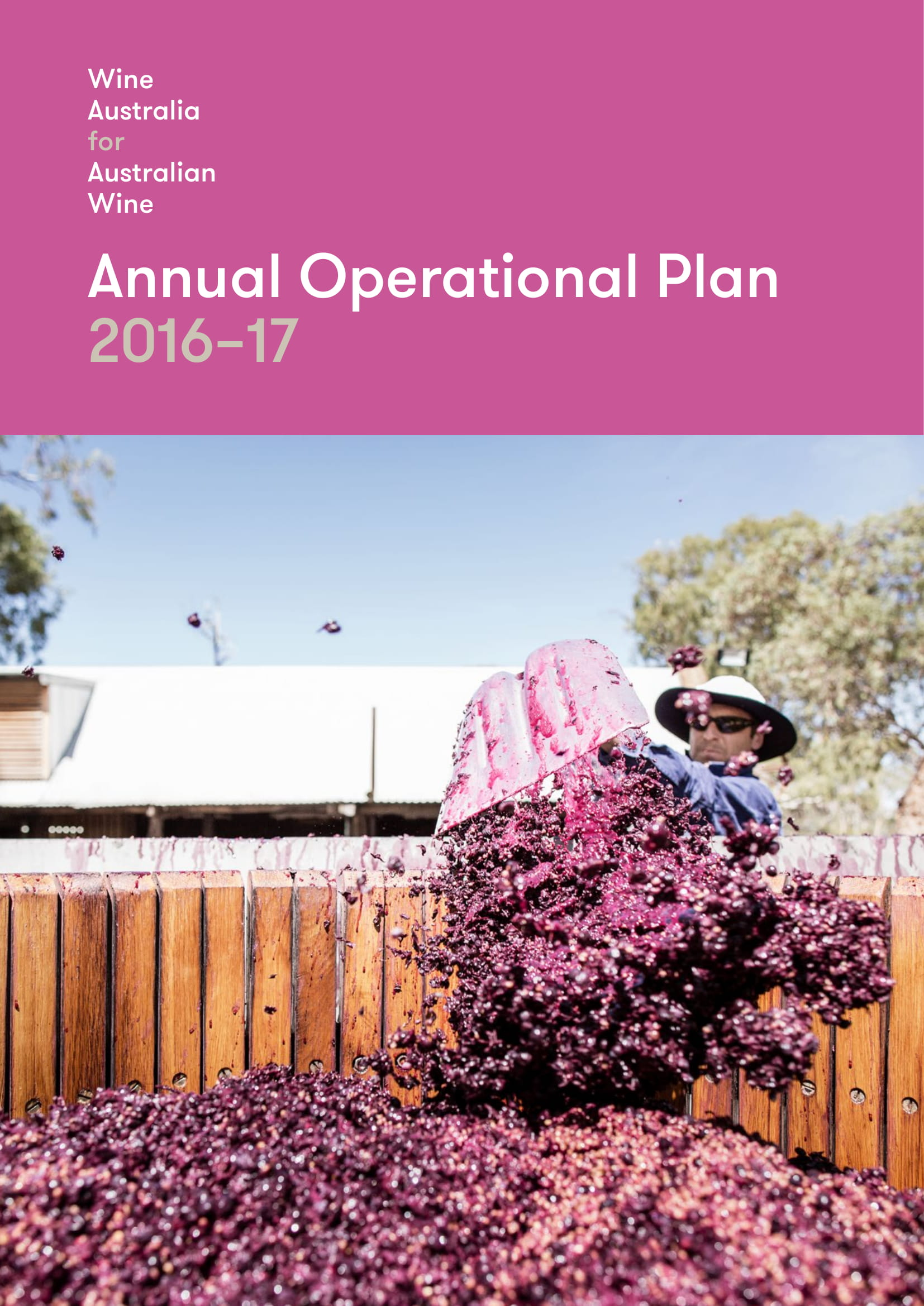 wine australia annual operational plan example
