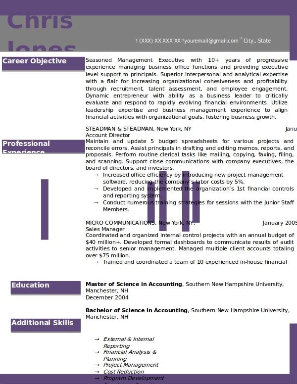 yosemite purple template example