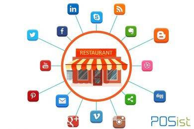 ocial media presence for a restaurant