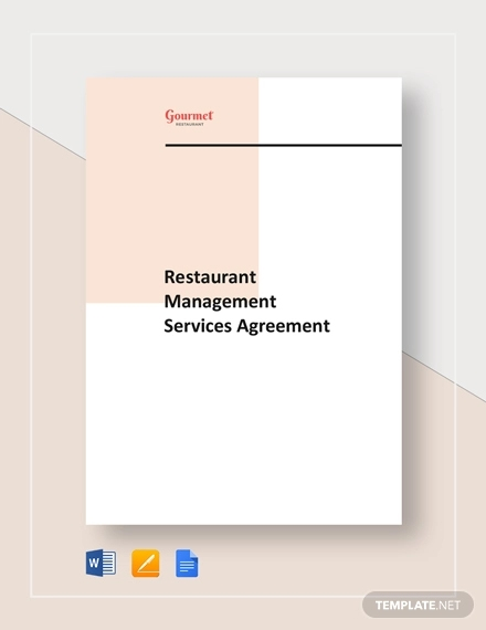 restaurant management service