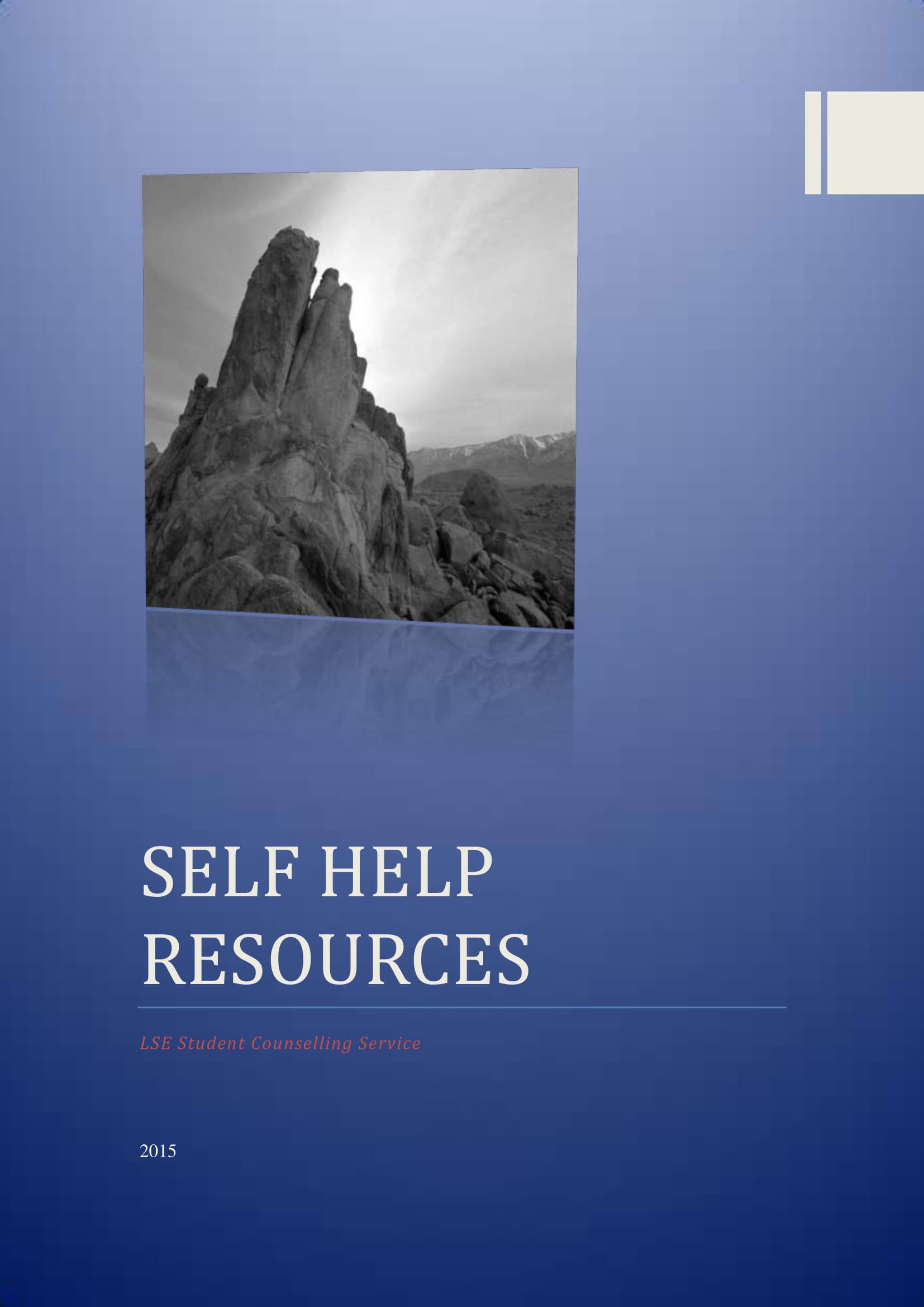scs self help guide
