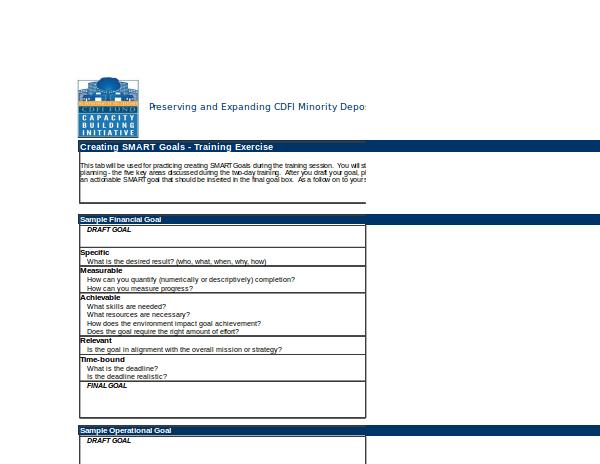 2 strategic planning performance measurement tools smart goals