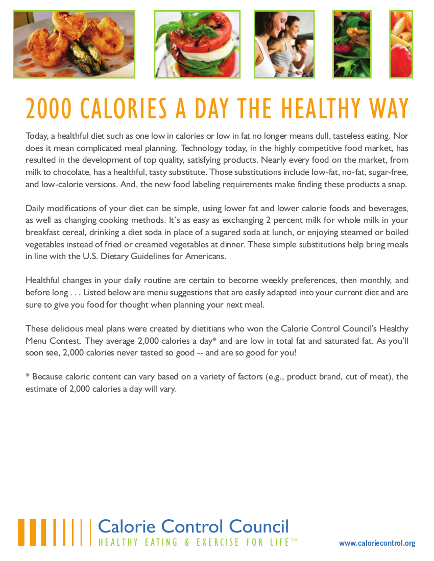 200 calories a day meal plan example
