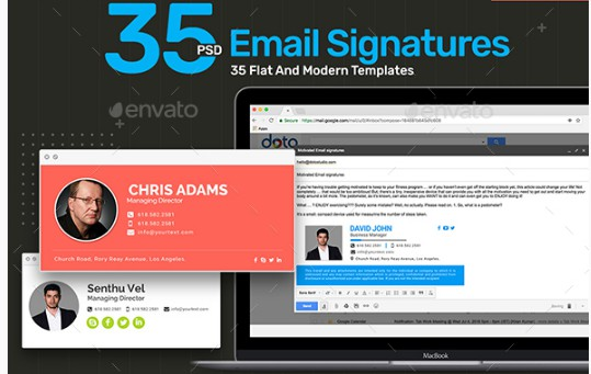 35 photography email signature example