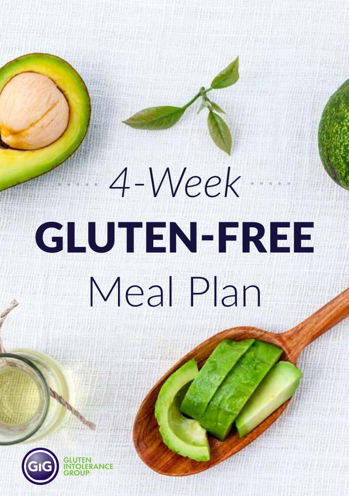 4 week gluten free meal plan example