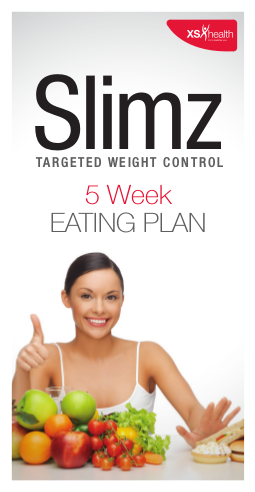 5 week targeted weight contro eating plan