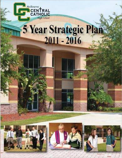 5 year high school strategic plan example