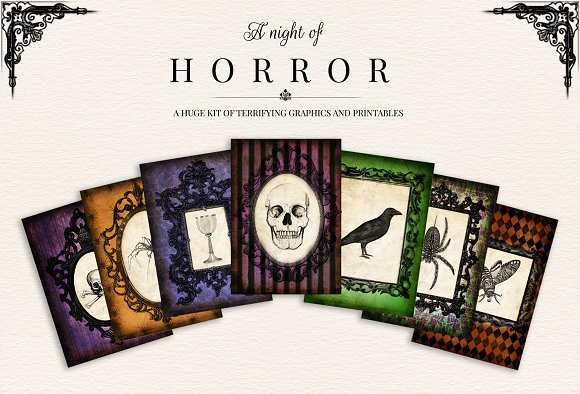 a night of horror halloween ticket