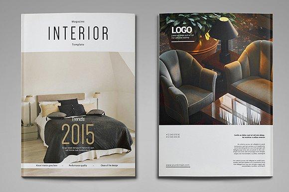 a4 us letter interior magazine