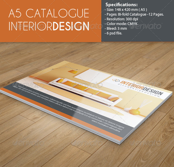 a5 interior design catalog example1