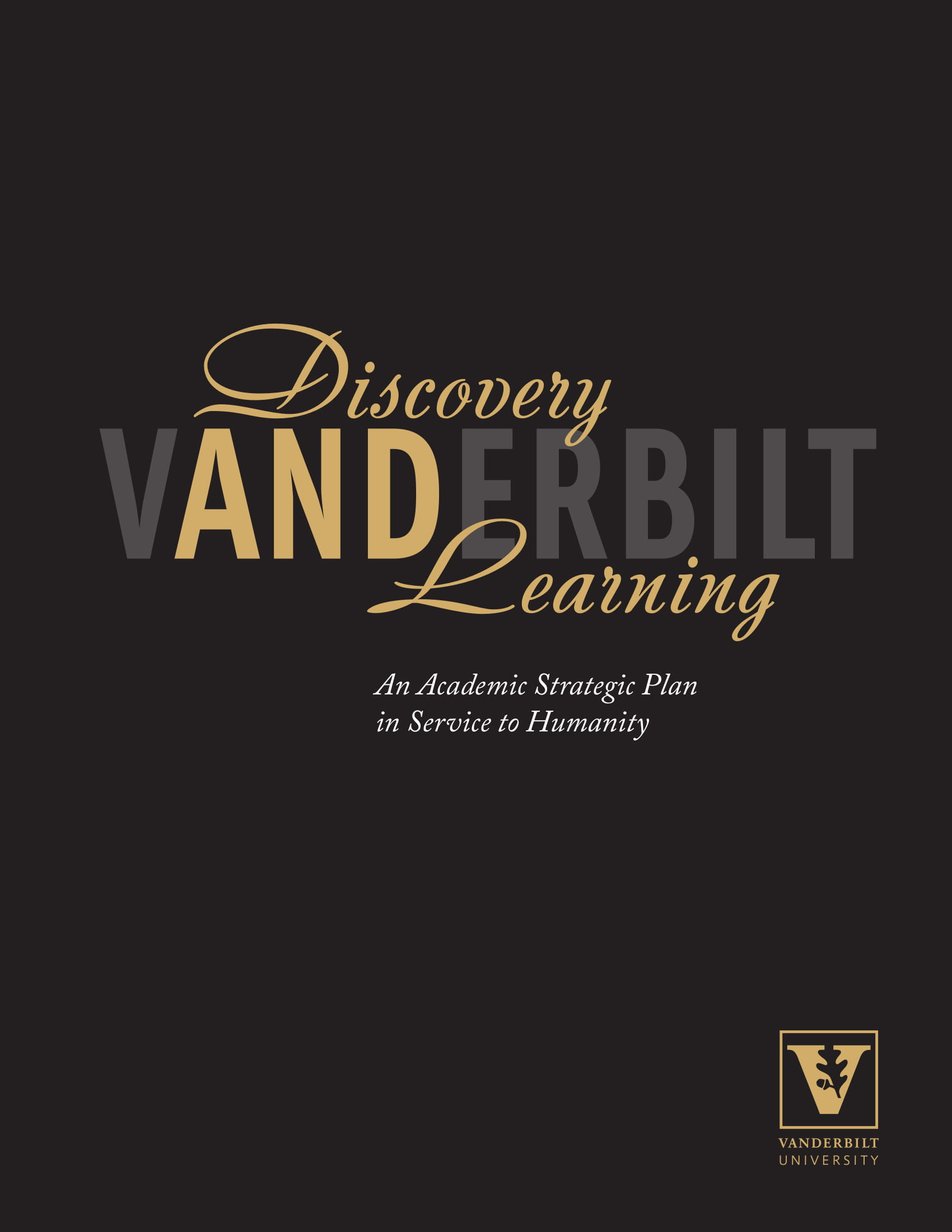 academic strategic plan for vanderbilt university