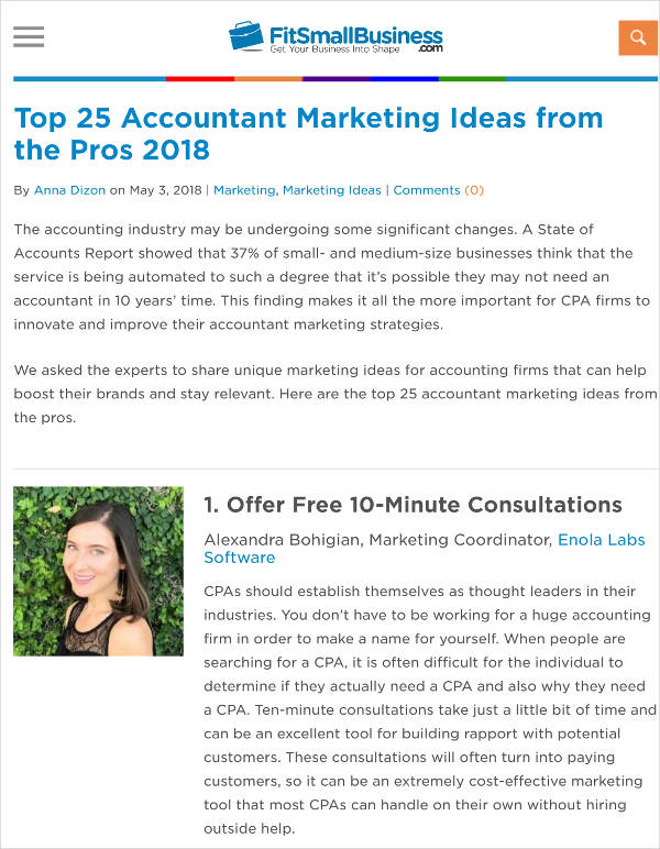 accounting firm marketing plan ideas example1