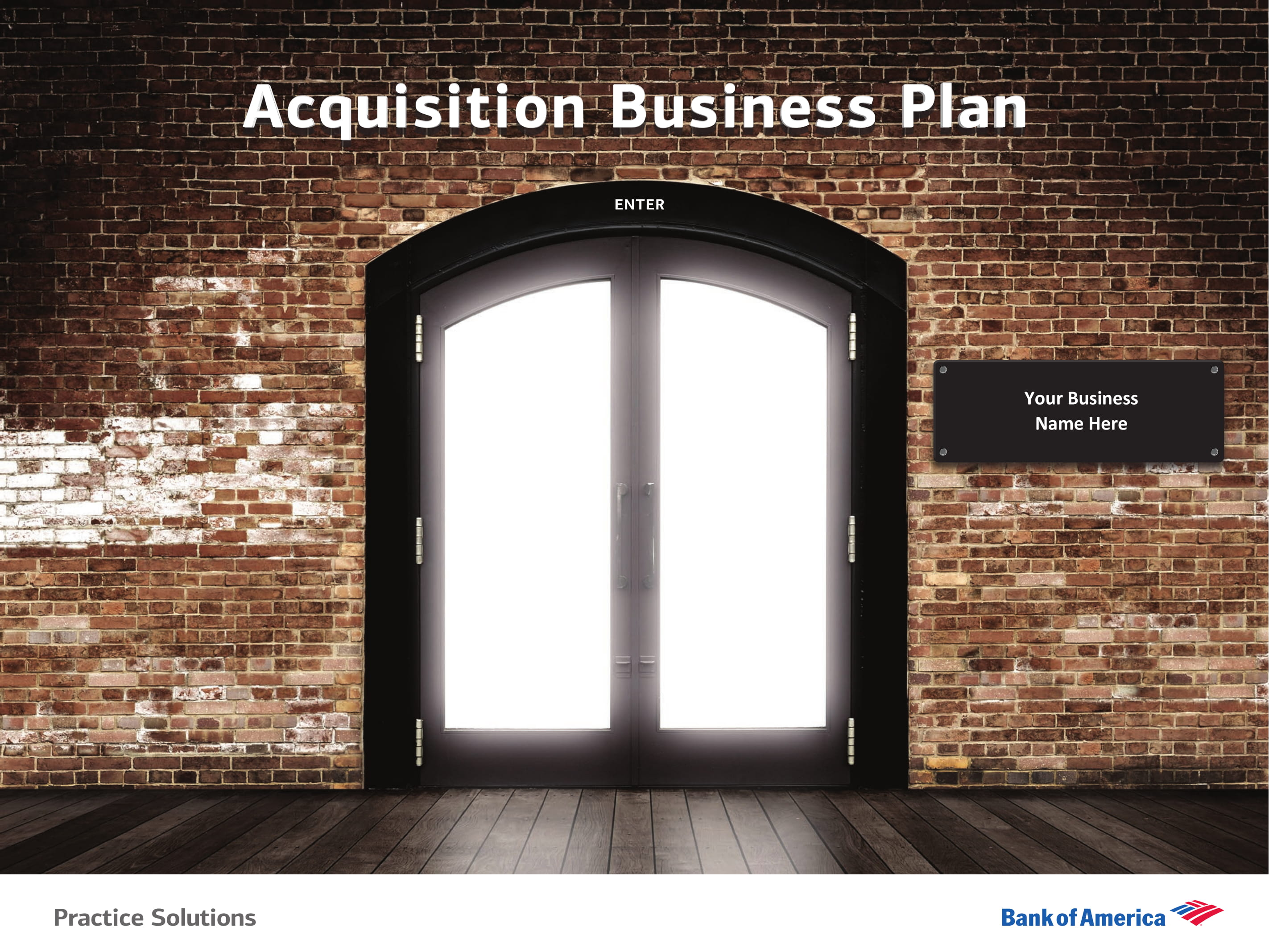 acquisition business plan example 01