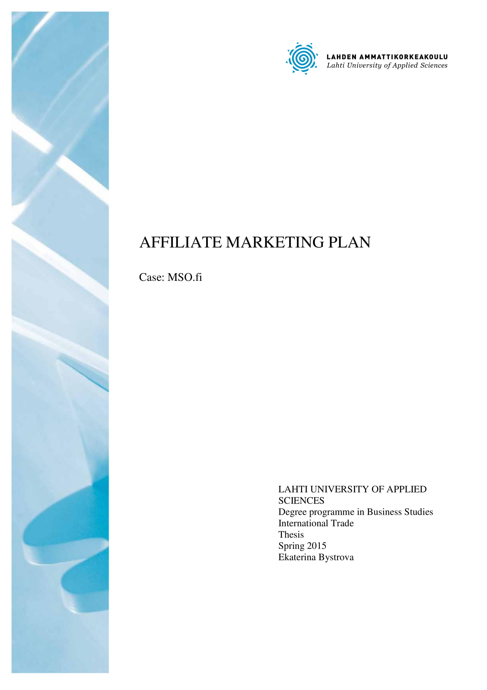 affiliate marketing plan for a business example 01