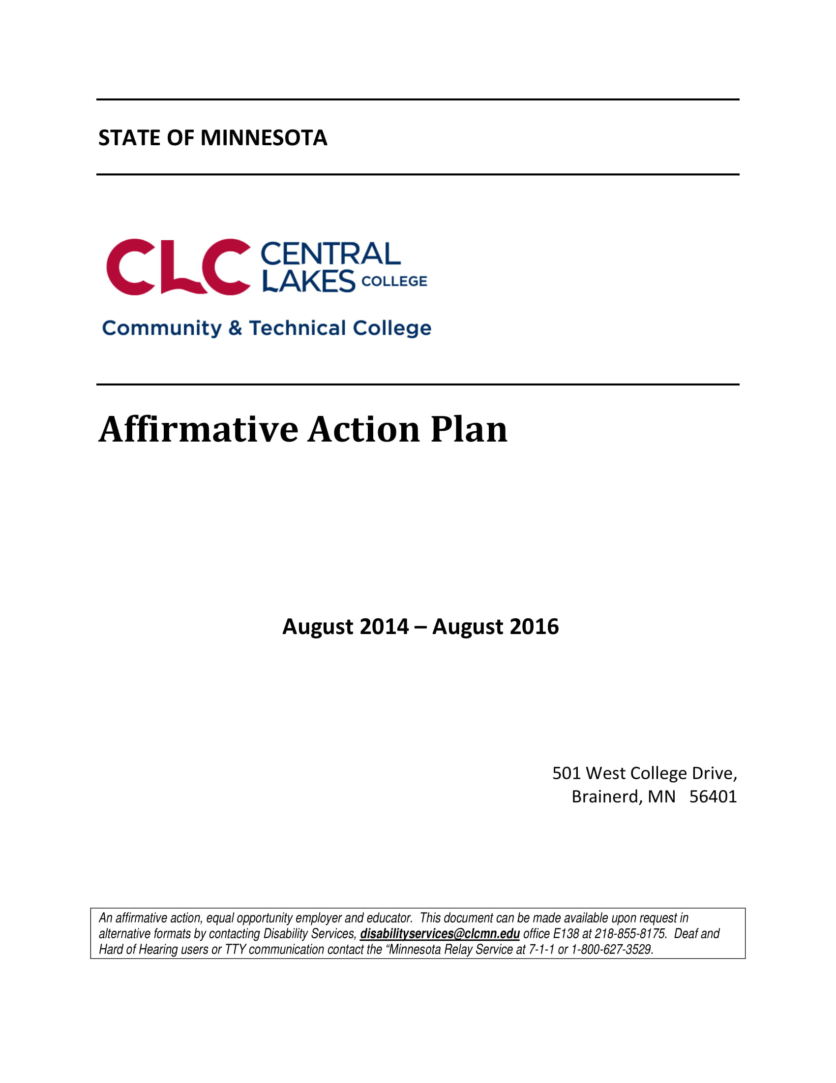 affirmative action plan example 01