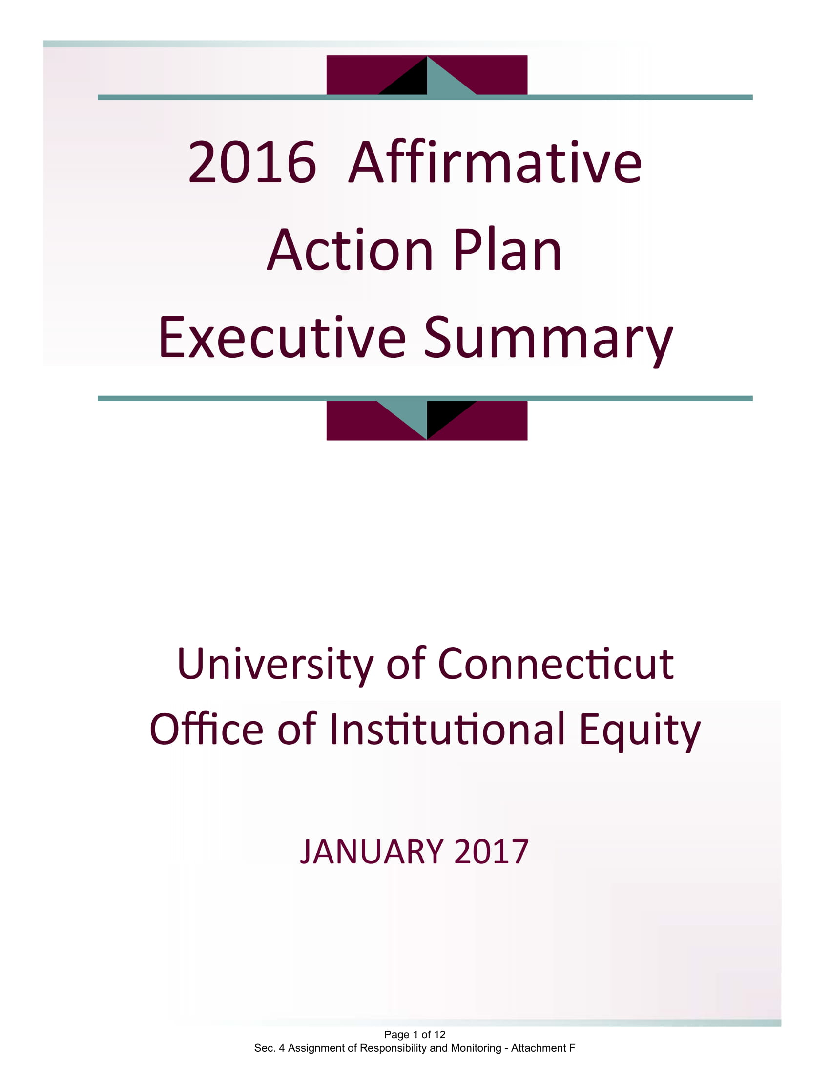 affirmative action plan executive summary example 01