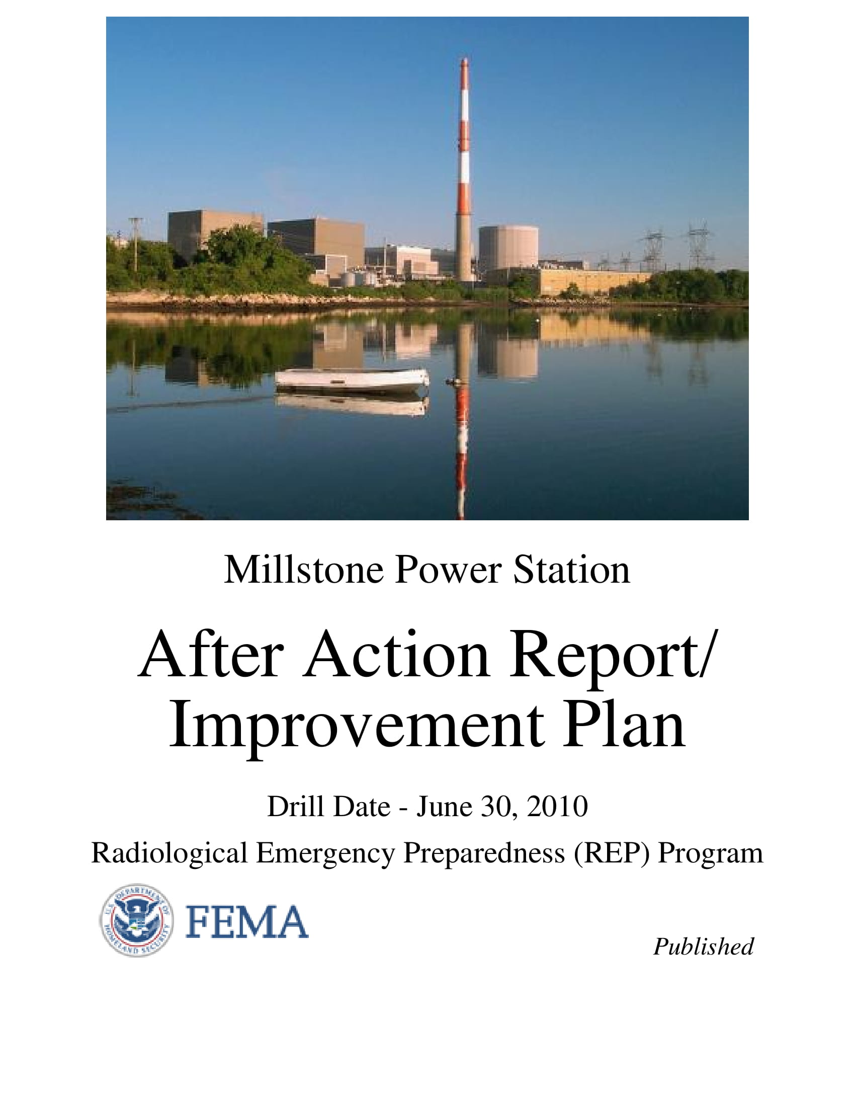 after action report and improvement plan for radiological emergency preparedness program example 01