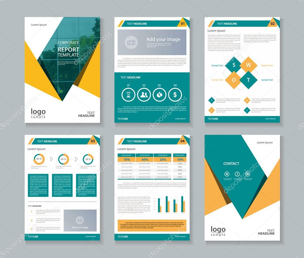 annual corporate report template