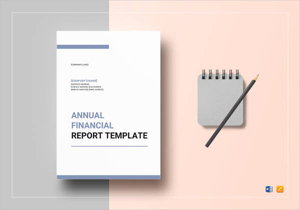 annual financial report example